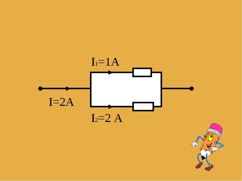 I=2A I1=1A I2=2 A