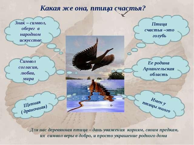 Какая же она, птица счастья? Знак – символ, оберег в народном искусстве Птица...