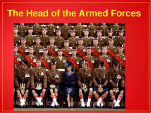 The Head of the Armed Forces