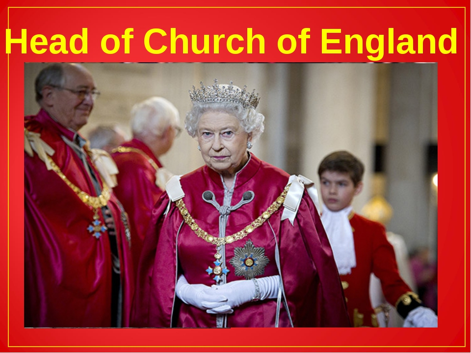 Head of Church of England
