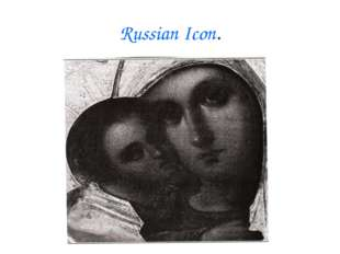 Russian Icon.