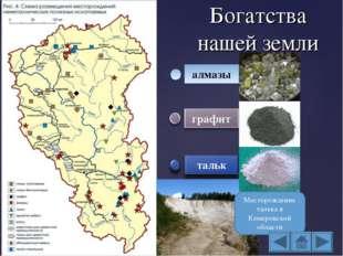 Богатства нашей земли алмазы Месторождение талька в Кемеровской области