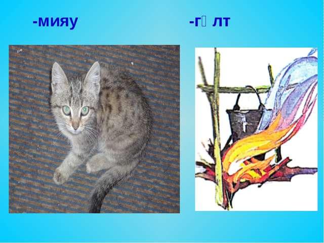 -мияу -гөлт