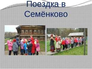 Поездка в Семёнково