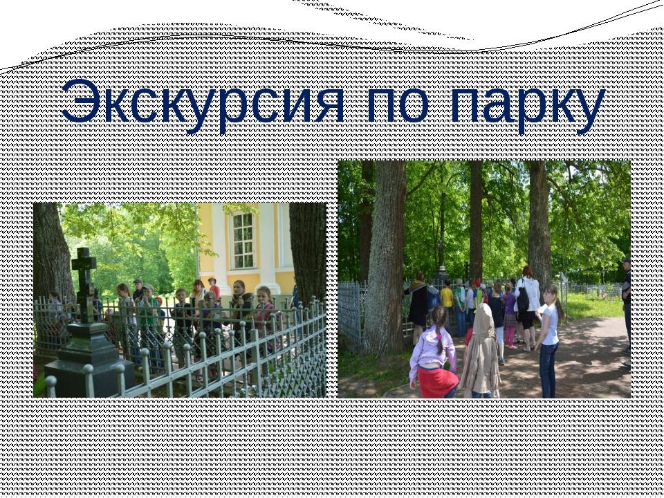 Экскурсия по парку