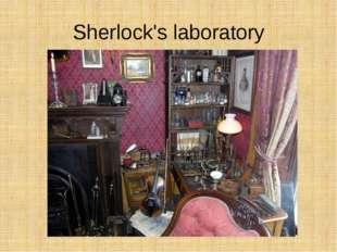 Sherlock's laboratory