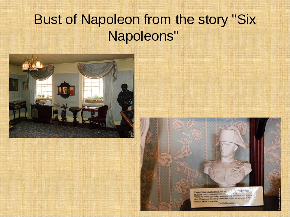 """Bust of Napoleon from the story """"Six Napoleons"""""""