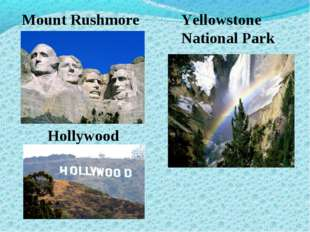 Mount Rushmore Yellowstone National Park Hollywood