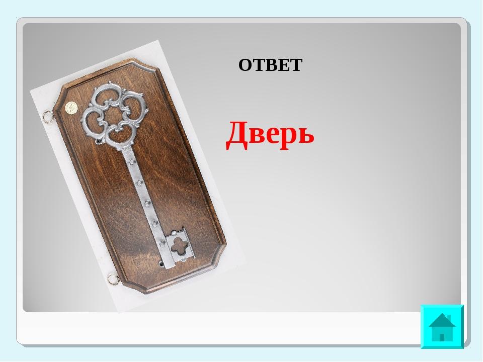 ОТВЕТ Дверь