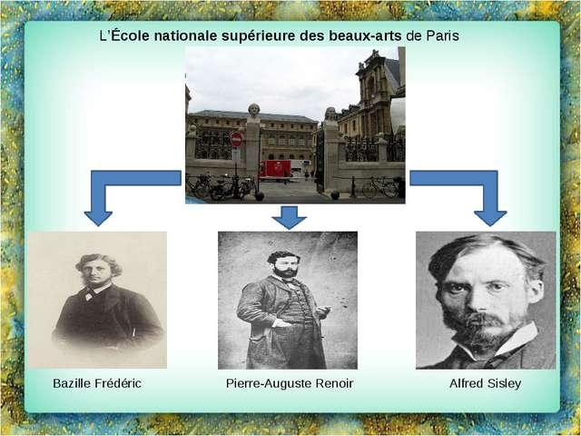 L'École nationale supérieure des beaux-artsdeParis Pierre-Auguste Renoir Al...