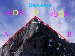 Вершина А О В