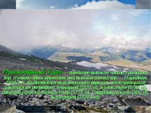 Приполярный Урал— наиболее высокая часть Уральских гор. Именно здесь располо