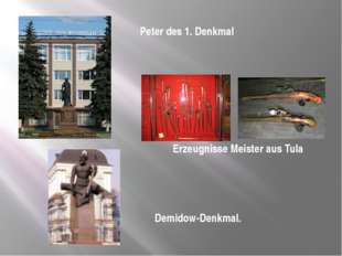 Demidow-Denkmal.