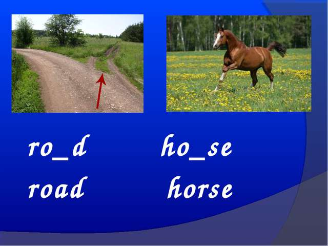 ro_d ho_se road horse
