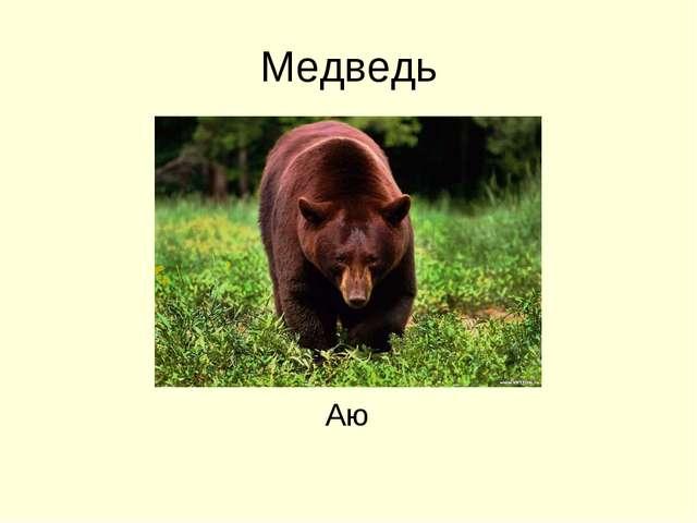 Медведь Аю