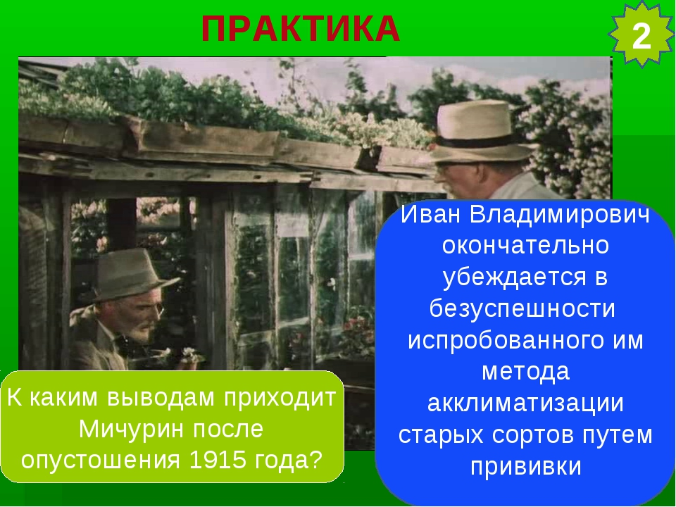 2 ПРАКТИКА Иван Владимирович окончательно убеждается в безуспешности испробов...