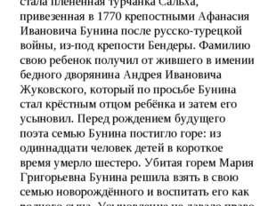 Родился 29 января (9 февраля) 1783 года в Тульской губернии. Матерью Жуковско
