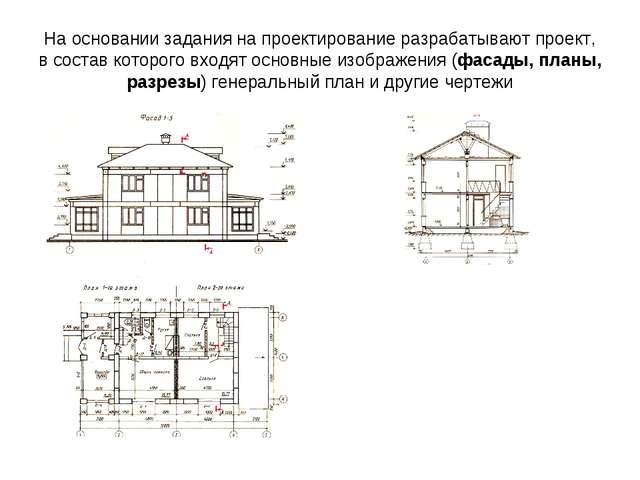 На основании задания на проектирование разрабатывают проект, в состав которог...