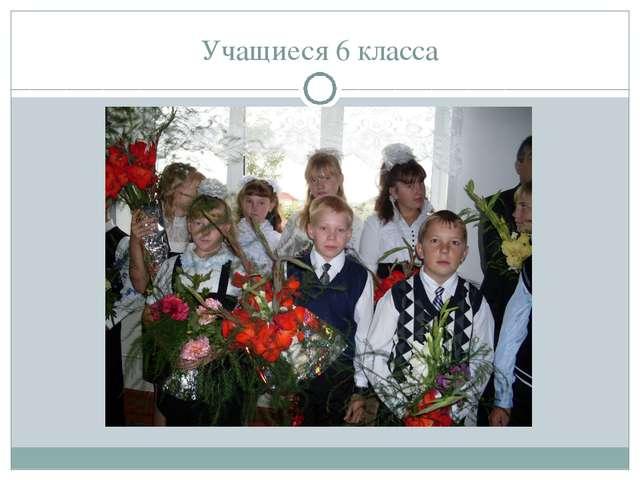 Учащиеся 6 класса