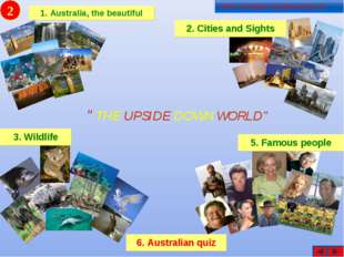 "2 2 ""THE UPSIDE DOWN WORLD"""