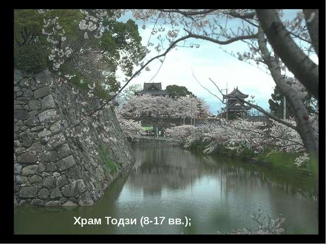 Храм Тодзи (8-17 вв.);