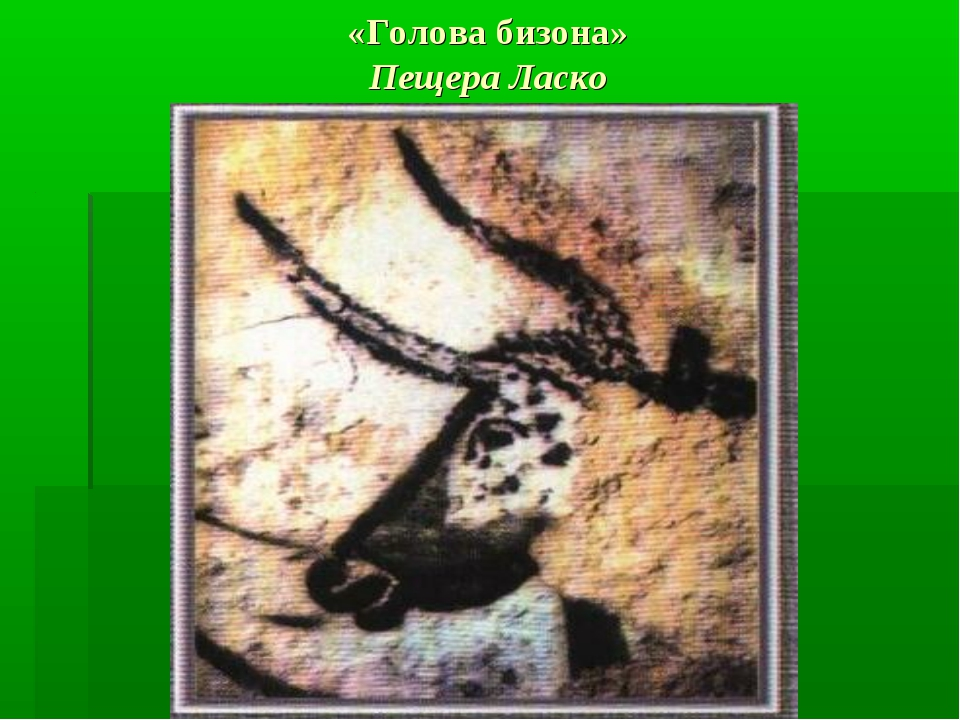«Голова бизона» Пещера Ласко
