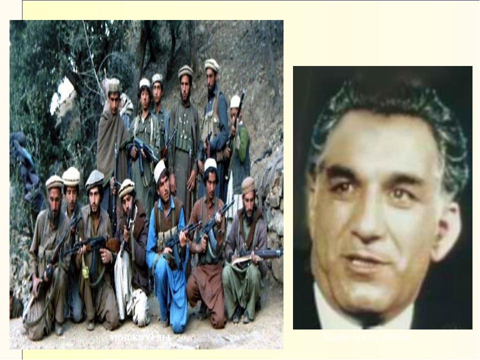 Хафизулла Амин моджахеды