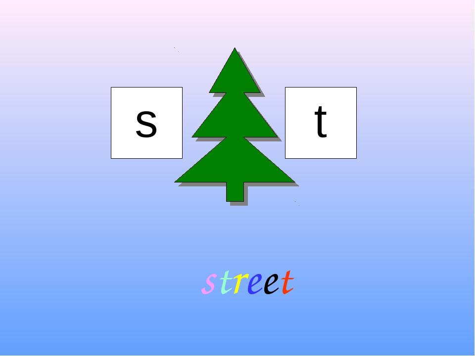 s t street
