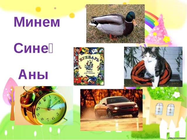 Минем Синең Аның