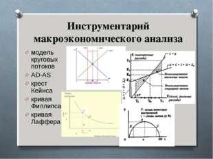 Инструментарий макроэкономического анализа модель круговых потоков AD-AS крес
