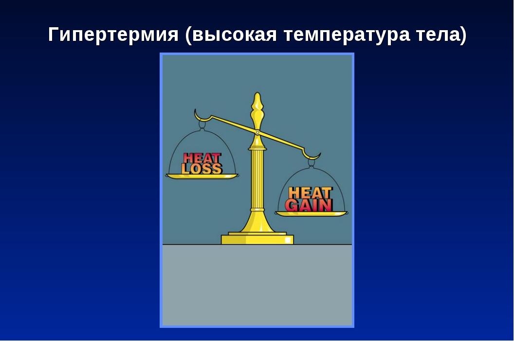 Гипертермия (высокая температура тела)