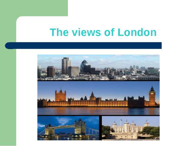 The views of London