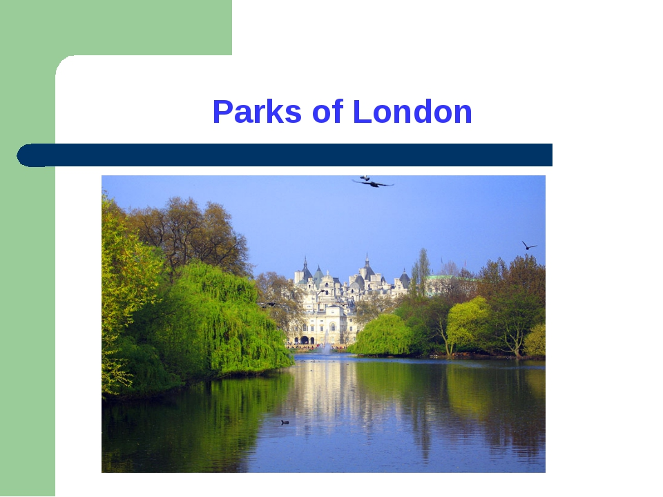 Parks of London