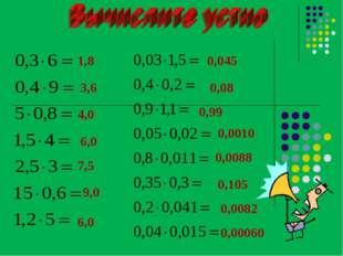 1,8 3,6 4,0 6,0 7,5 9,0 6,0 0,045 0,08 0,0010 0,99 0,0088 0,105 0,0082 0,00060