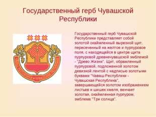 Государственный герб Чувашской Республики Государственный герб Чувашской Респ