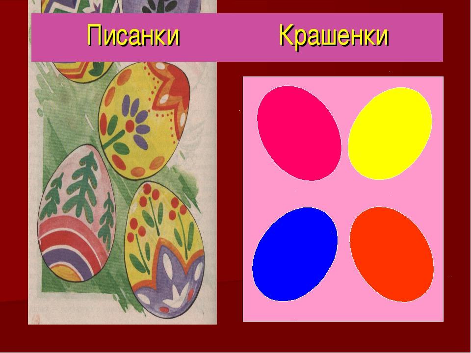 Писанки Крашенки