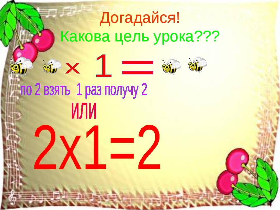 Догадайся! Какова цель урока???