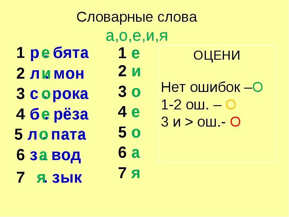 1 р . бята 2 л . мон 3 с . рока 5 л . пата 6 з . вод 7 . зык а е и о о е я 1...