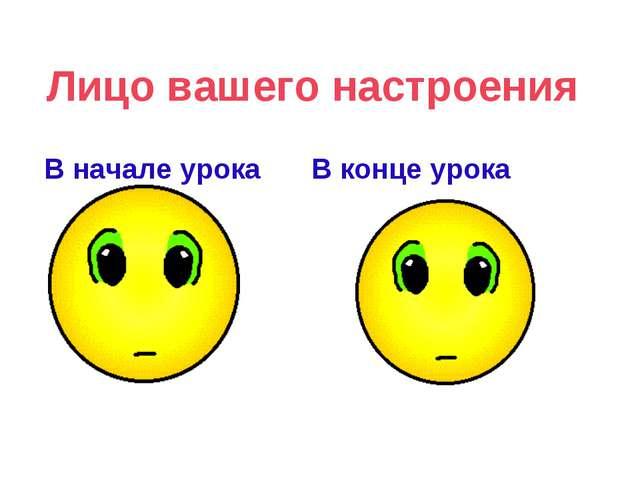 Лицо вашего настроения