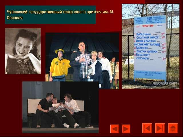 Чувашский государственный театр юного зрителя им. М. Сеспеля