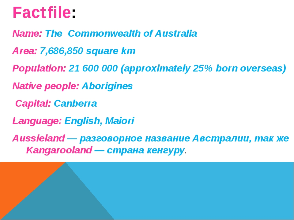 Fact file: