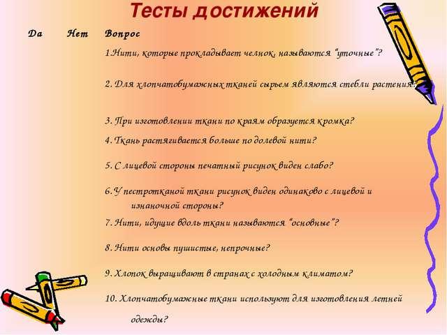 Тесты достижений ДаНетВопрос 1.Нити, которые прокладывает челнок, называю...