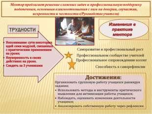 Саморазвитие и профессиональный рост Профессиональном сообществе учителей Про