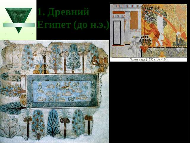 1. Древний Египет (до н.э.)