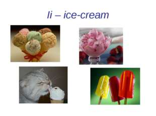 Ii – ice-cream