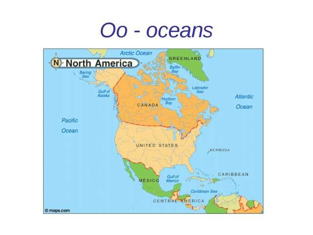 Oo - oceans
