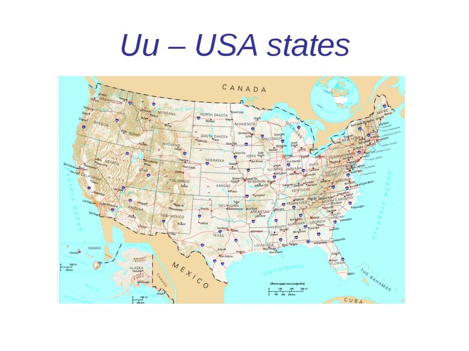 Uu – USA states