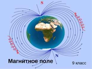 Магнитное поле 9 класс