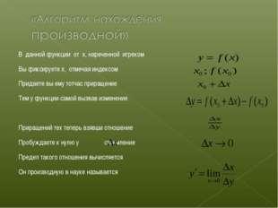 В данной функции от x, нареченной игреком Вы фиксируете x, отмечая индексом П