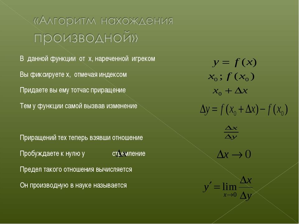 В данной функции от x, нареченной игреком Вы фиксируете x, отмечая индексом П...